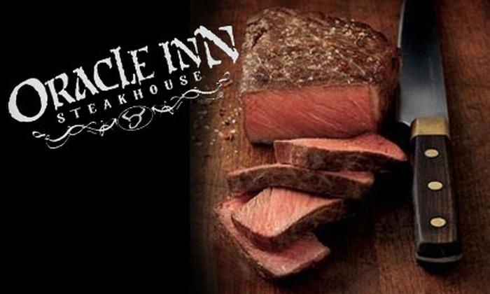 Oracle Inn Steakhouse - San Manuel: $10 for $20 Worth of American Fare at Oracle Inn Steakhouse in Oracle