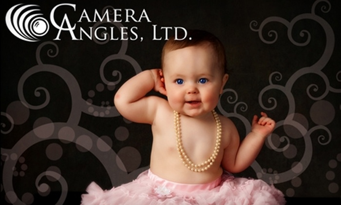 """Camera Angles - Wichita: $25 for Indoor or Outdoor Photography Session and 4"""" x 5"""" Print at Camera Angles ($80 Value)"""