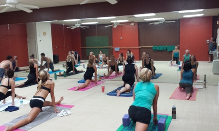 $50 for $100 Worth of Yoga Classes at Big Rons Yoga