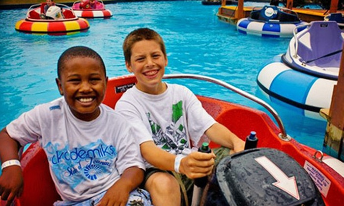 Fun 'n' Stuff - Macedonia: $15 for an All-Day Wristband for Recreational Activities at Fun 'n' Stuff ($32.95 Value)