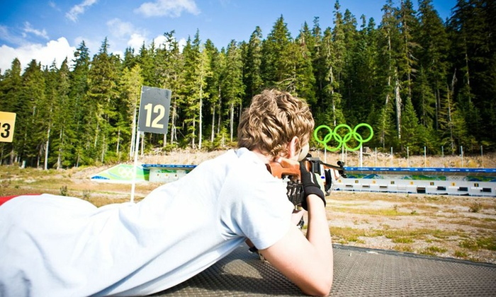 Whistler Olympic Park - Whistler Olympic Park: C$20 for a Discover Biathlon Experience for Two at Whistler Olympic Park (C$35 Value)
