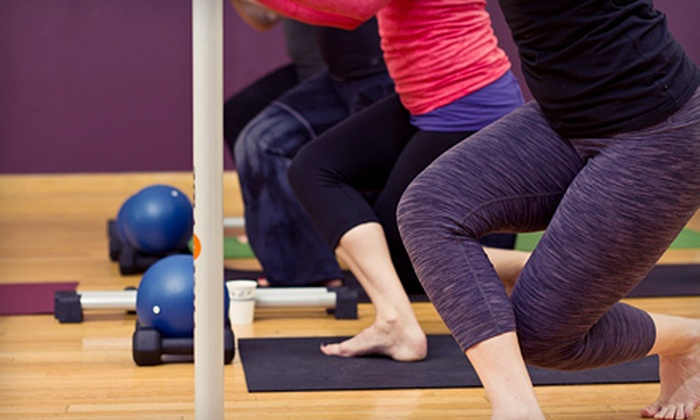 Barre Bliss - Barre Bliss: 5 or 10 Barre Classes or 5 Classes and a 60-Minute Massage at Barre Bliss (Up to 60% Off)