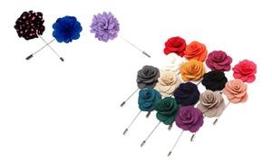 Elie Milano Italy Men's Flower Lapel Boutonniere