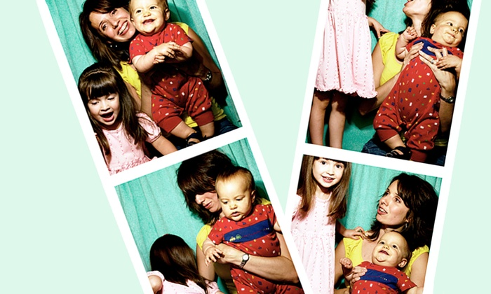 In & Out Photo Booth - San Diego: Three- or Four-Hour Photo-Booth Rental from In & Out Photo Booth (Up to 57% Off)