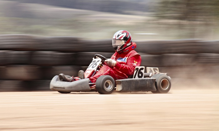 Tumbleweed Speedway - Odessa: $20 for High-Speed Kart Racing for One Driver and One Spectator at Tumbleweed Speedway ($40 Value)