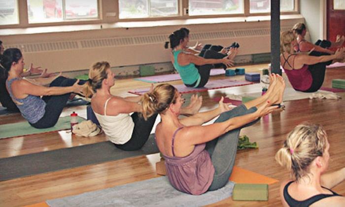 bCalm Power Yoga - Hopkinton: $45 for 10 Power-Vinyasa-Yoga Classes at bCalm Power Yoga in Hopkinton (Up to $130 Value)