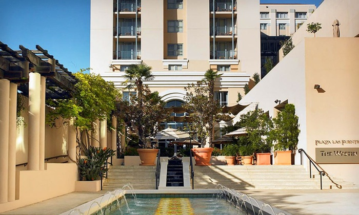 null - Los Angeles: Stay for Two with Bottle of Wine, Appetizer, and WiFi at Westin Pasadena in Pasadena, CA