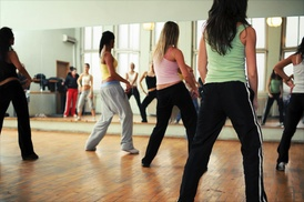 Drm fitness studio: 10 60-Minute Zumba Toning Classes from DRM fitness studio (62% Off)