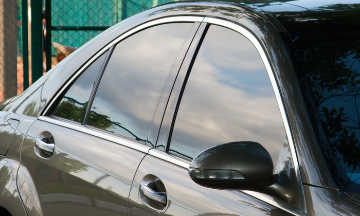 Top Line Tints & Audio - Multiple Locations: Vehicle Window Tinting for Two Front Windows or for Five Windows at Top Line Tints & Audio (Up to 54% Off)