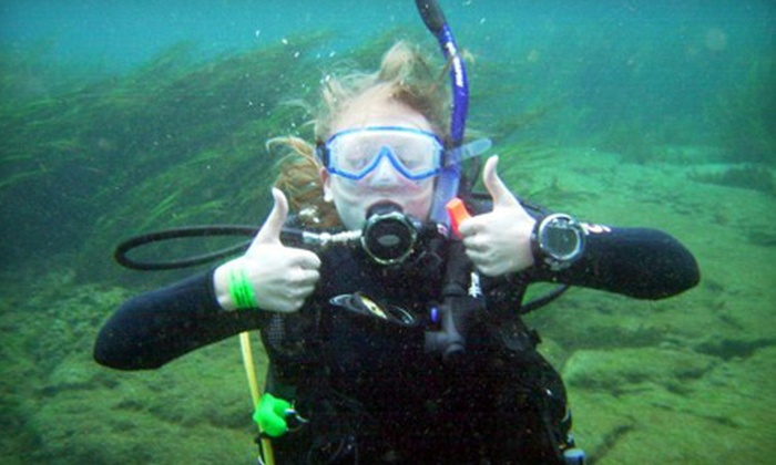 Charleston Scuba - West Ashley: $59 for a Chartered Scuba Trip with Two Reef and Ledge Dives from Charleston Scuba ($130 Value)