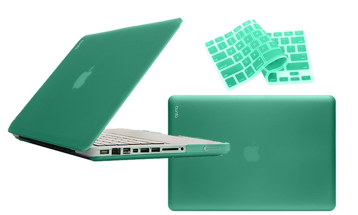 Bunta Hard-Case Macbook Shell with Silicone Keyboard Cover: Bunta Hard-Case Frosted Macbook Shell with a Silicone Keyboard Cover. Available for Multiple Models. Free Returns.