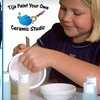 "Tija Ceramic Studio and Art Cafe - Burlington: $49 for a Kid's ""Birthday Party to Go!"" Package from Tija Ceramic Studio and Art Cafe ($119 Value)"