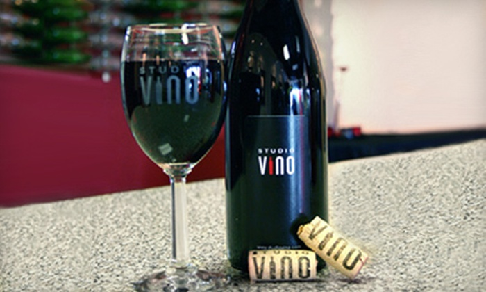 Studio Vino - Tempe: $30 for Wine Tasting for Up to Four People at Studio Vino in Tempe (Up to $60 Value)