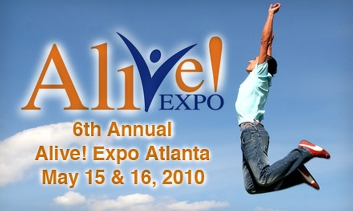 Alive Expo - Downtown: $8 for Two Tickets to the Alive! Expo May 15 or 16 ($20 Value)