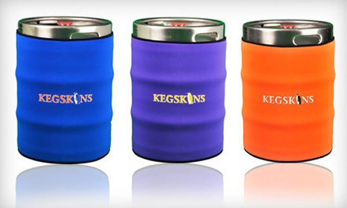 KegSkins: $20 for a Classic Neoprene Keg Insulator from KegSkins ($39.95 Value)