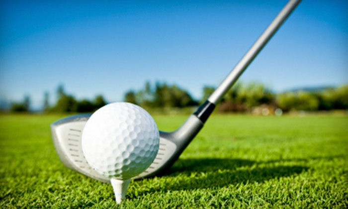 The View Golf Resort - Princeton: $50 for 18 Holes of Golf for Two and Lounge Fare at The View Golf Resort in Princeton ($100 Value)