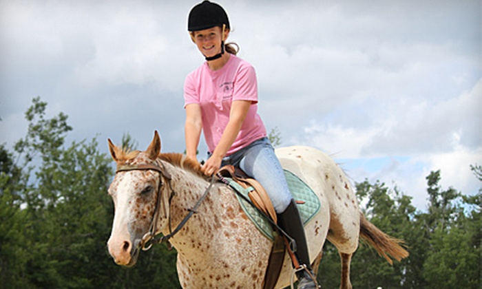 Cornerstone Ranch - Princeton: $35 for a Two-Hour Guided Horseback Ride at Cornerstone Ranch in Princeton (Up to $70 Value)