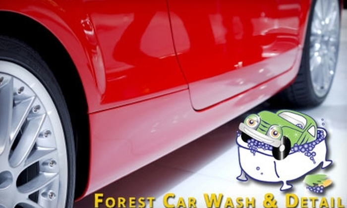 Forest Car Wash & Detail - Preston Hollow: $21 for Two Car Washes by Hand at Forest Car Wash & Detail ($42 Value)