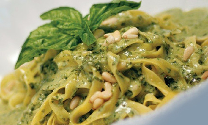 Cicciotti's Trattoria Italiana & Seafood - Encinitas: $20 for $45 Worth of Seafood, Pasta, and Wood-Fired Pizza at Cicciotti's Trattoria Italiana & Seafood in Cardiff-by-the-Sea