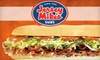 Jersey Mike's Subs - Metrocenter/North Rhodes Park: $7 for $15 Worth of Subs, Wraps, & Salads at Jersey Mike's Subs