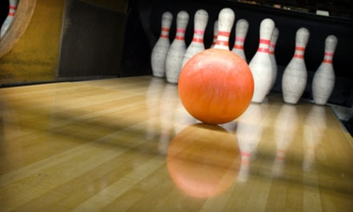 USA Bowl - Preston Hollow: $20 for Two Games of Bowling and Shoe Rental for Four People at USA Bowl