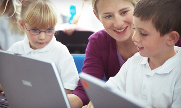 Giggle-Bytes - Multiple Locations: Five 30-Minute or 60-Minute Children's Computer Classes at Giggle-Bytes (Up to 57% Off)