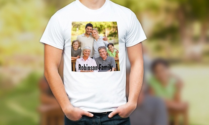 MailPix: $5 for Custom Photo T-shirt from MailPix ($12 Value)
