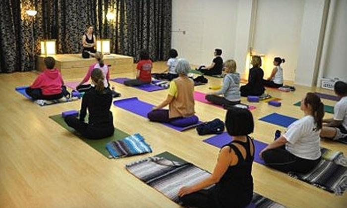 Lubbock Yoga - Wheelock and Monterey: $39 for Eight Yoga Classes at Lubbock Yoga