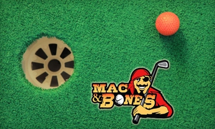 Mac & Bones Miniature Golf - Flowood: $10 for Unlimited Minigolf for Two at Mac & Bones Miniature Golf ($20 Value)