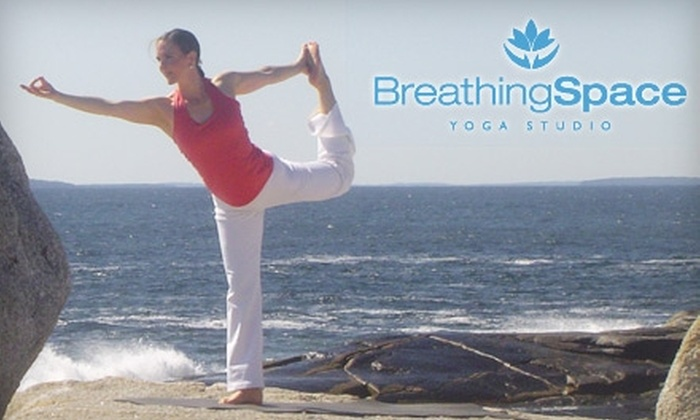 Breathing Space Yoga Studio - Multiple Locations: $29 for Five Yoga Classes at Breathing Space Yoga Studio ($60 Value). Two Locations Available.