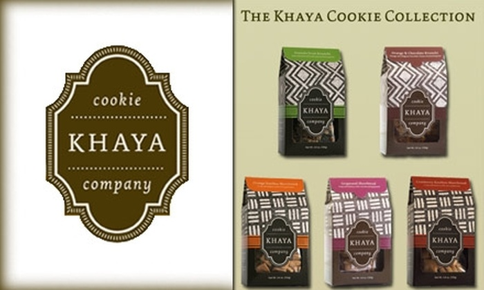 The Khaya Cookie Company - Philadelphia: $10 for $20 Worth of Gourmet Cookies Shipped from The Khaya Cookie Company