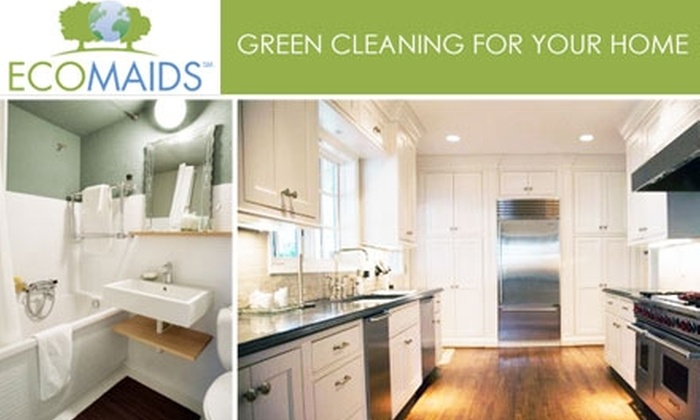 EcoMaids of Essex County - North Jersey: $69 for a Full-Service Cleaning for the Kitchen, One Bathroom, and up to Two Bedrooms from EcoMaids of Essex County