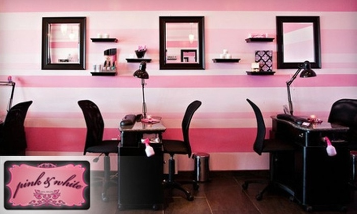 Pink and white nail salon in portland oregon groupon for 30 east salon reviews