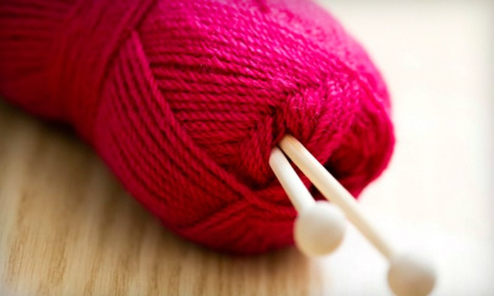 The Knitting Circle - Downtown Milford: Two or Five Two-Hour Knitting Classes with Supplies at The Knitting Circle in Milford (Up to 55% Off)