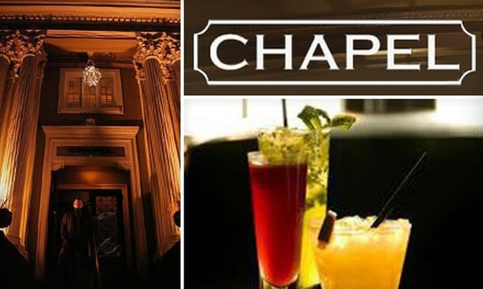 The Chapel Bar - Broadway: $12 for $25 Worth of Bar Fare and Drinks at The Chapel Bar