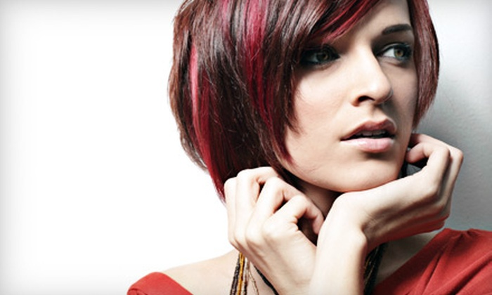 Escape Salon & Day Spa - Hudson: Haircut, Shampoo, and Style or Haircut with Partial Highlights at Escape Salon & Day Spa in Hudson (Up to 67% Off)