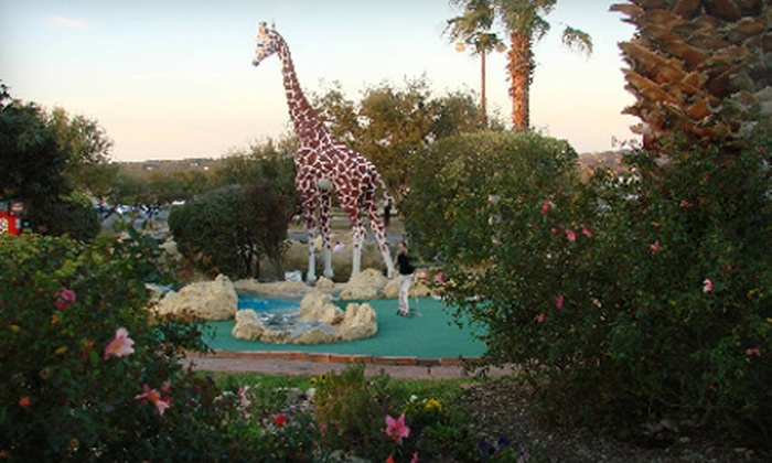 Embassy Miniature Golf - Northeast San Antonio: Six Rounds of Golf, Birthday-Party Package, or Pink Passport at Embassy Miniature Golf
