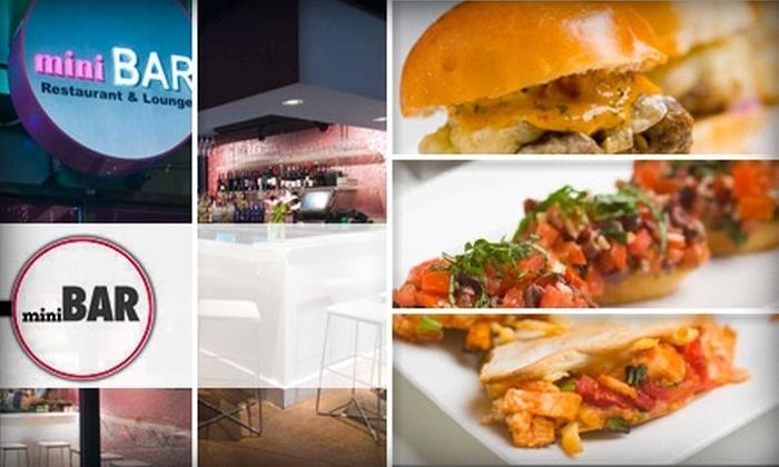 miniBAR - Congress Park: $25 for $50 Worth of Fresh Fare and Drinks at miniBar