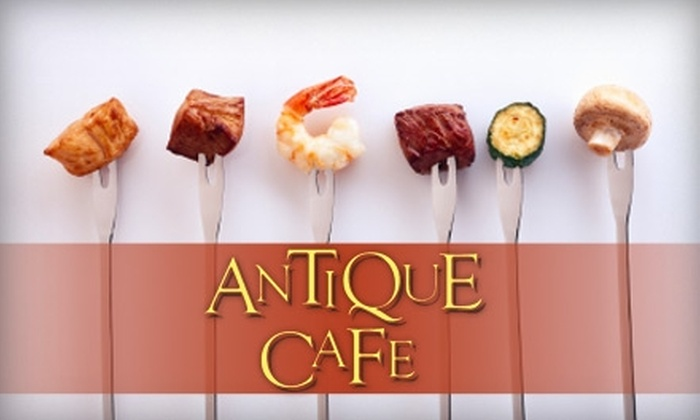 Antique Cafe - Midtown South Central: $10 for $20 Worth of Upscale Comfort Food and Drinks at Antique Cafe