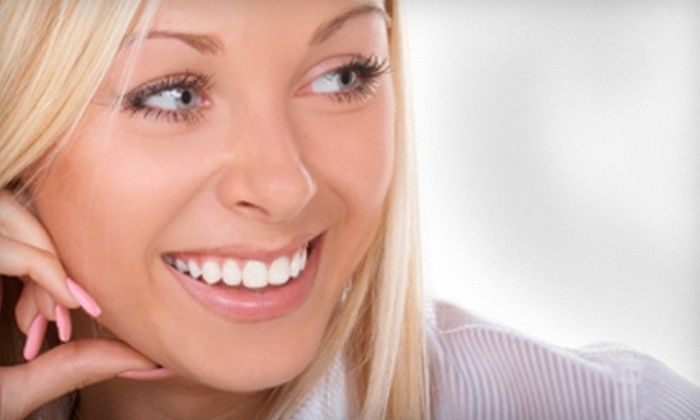 Dream Smile Dental - Canton: BriteSmile Teeth-Whitening Treatment or Custom Sports Mouthguard at Dream Smile Dental in Canton. Three Options Available.