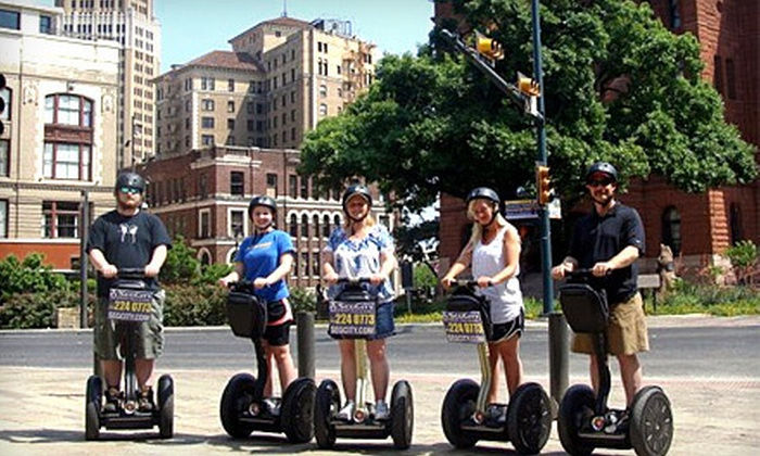 SegCity San Antonio - Downtown: Segway Experience Ride for Two or Four, or $5 for $25 Worth of Tour Upgrades from SegCity (Up to 80% Off)