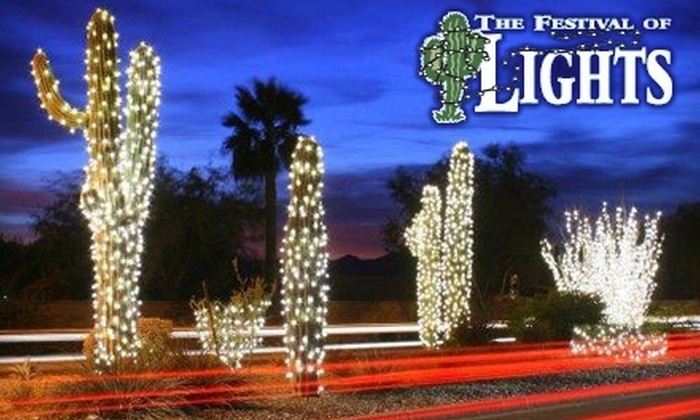 Ahwatukee Festival of Lights - Foothills Golf Club: $20 for Two Kids All-Day Ride Passes at The Festival of Lights in Ahwatukee on Nov. 27 ($40 Value)