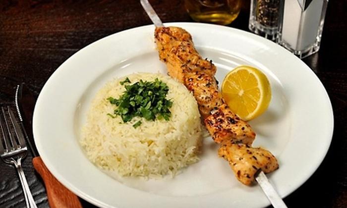 Hummus Bar & Grill - Tarzana: $15 for $30 Worth of Israeli Cuisine at Hummus Bar & Grill in Tarzana