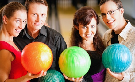 2 Games of Bowling, Plus Shoe Rentals, for Up to 4 People (a $40 value) - Galaxie Bowling in Aylmer