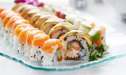 Sushi and Drinks at Kampai Sushi Bar Chesterfield (Up to 43% Off). Five Options Available.