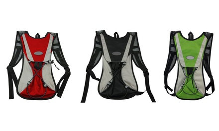 Hydration Backpack with Two Liter Reservoir