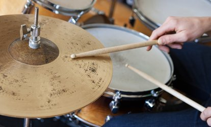 image for Three One-to-One Drumming Lessons at Rhythm Room (Up to 72% Off)