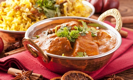 $1,999 for Function Centre Hire with Food Catering for Up to 60 Guests at Modern Indian Restaurant (Up to $3,600 Value)