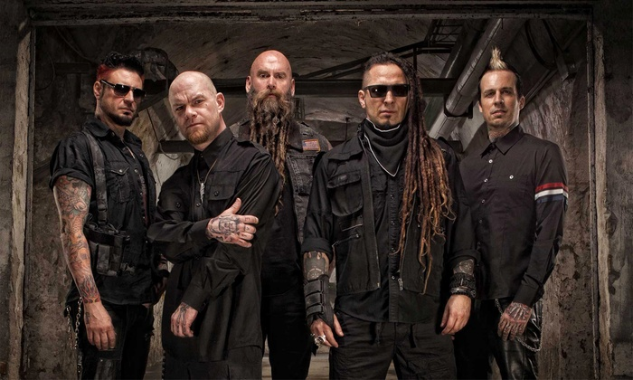 Five Finger Death Punch - Indiana Farmers Coliseum: Five Finger Death Punch & Papa Roach on September 30 at 6:15 p.m.