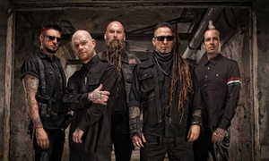 Five Finger Death Punch & Papa Roach: Five Finger Death Punch & Papa Roach on September 29 at 6:15 p.m.